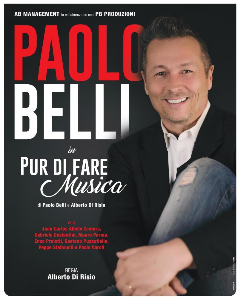 Paolo Belli l'8 gennaio a Camerino