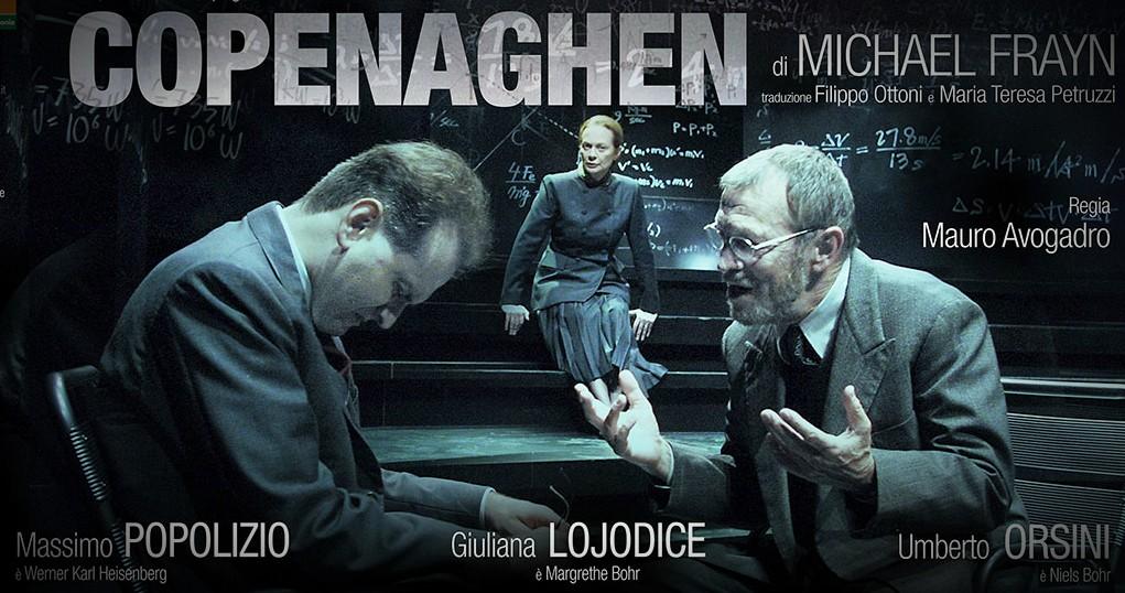 """""""Copenaghen"""" di Michael Frayn nei teatri delle Marche"""