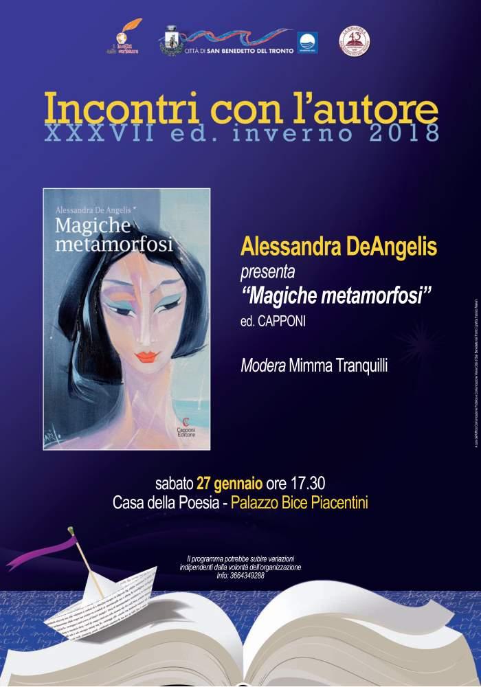 """Alessandra De Angelis, """"Magiche Metamorfosi"""" a Palazzo Bice Piacentini"""