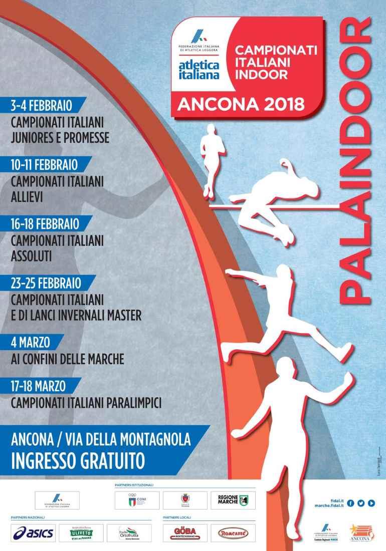 Al via il febbraio dell'Atletica ad Ancona