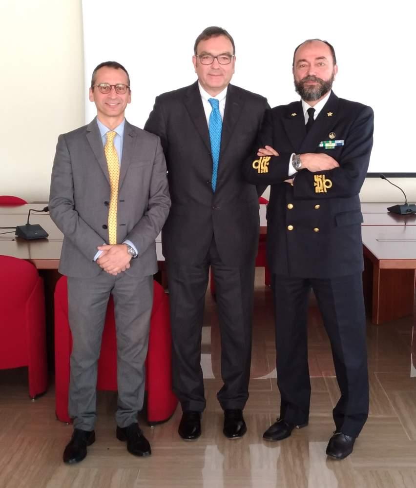 Porto Ancona: contrammiraglio Enrico Moretti all'Autorità di sistema