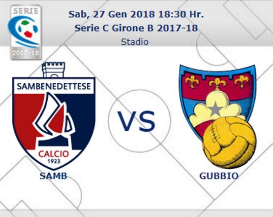 Samb – Gubbio a Fabio Pasciuta di Agrigento
