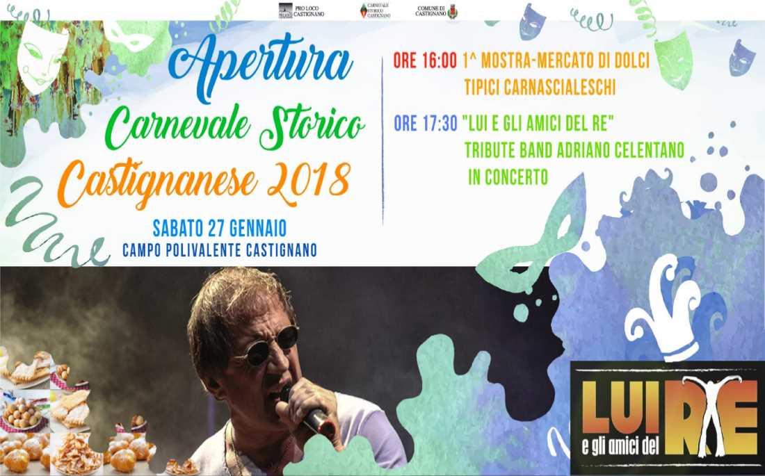 Apertura Carnevale Storico Castignanese
