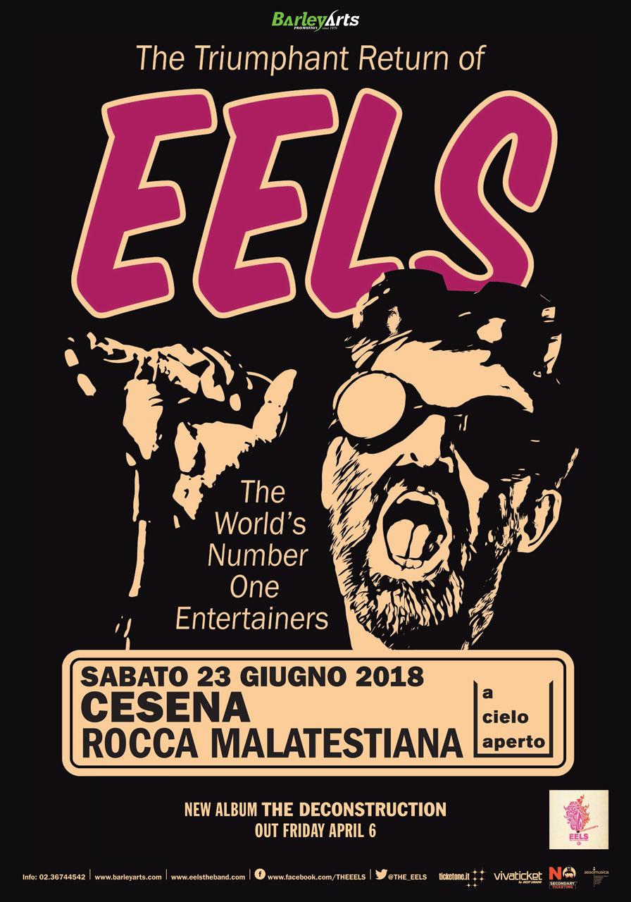 Tornano gli Eels, data unica italiana alla Rocca Malatestiana di Cesena