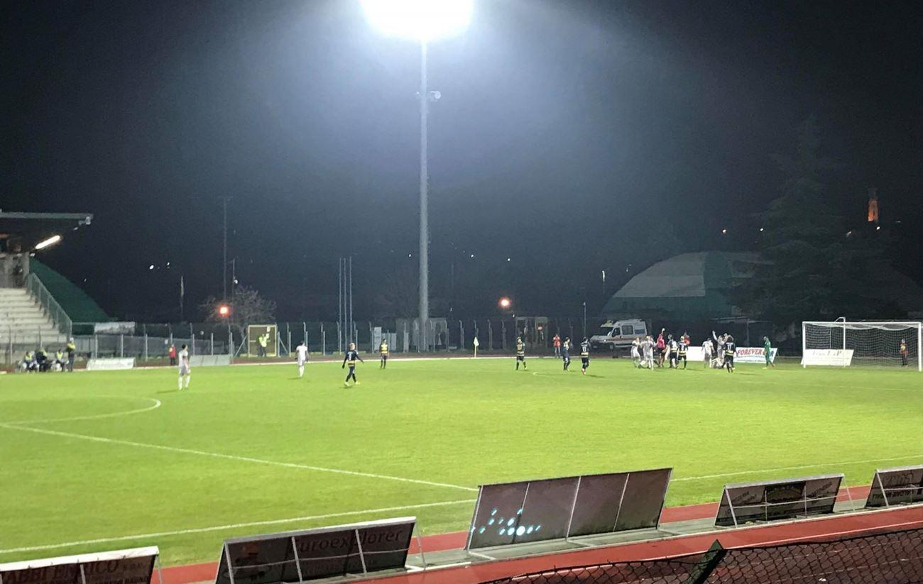 Santarcangelo – Samb 0 a 1