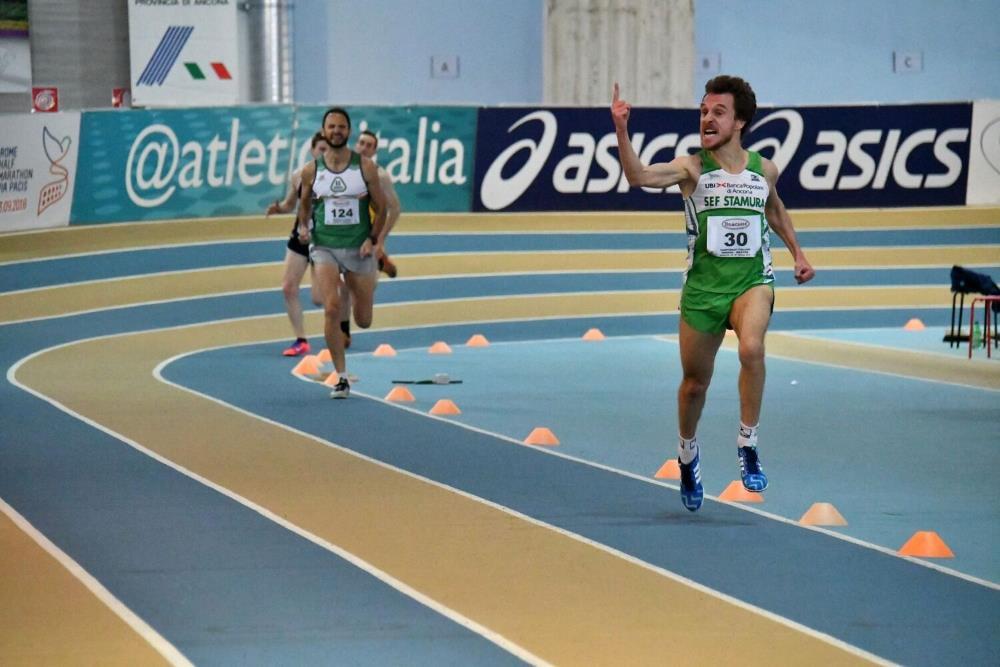 Atletica, Master: primati sprint al Palaindoor di Ancona