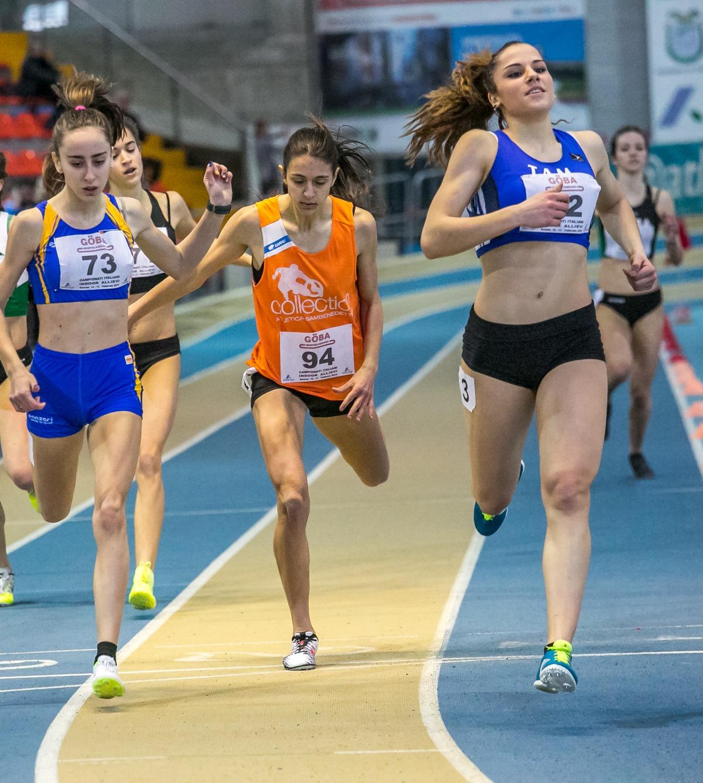 Atletica allievi indoor, Ghergo 400 d'oro ad Ancona!