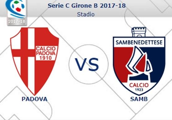 Variazioni gare Padova – Samb e Samb – Reggiana