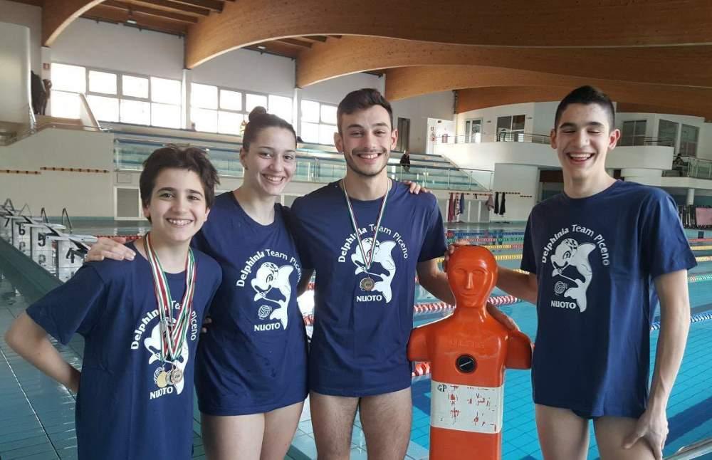 Nuoto per Salvamento: la Delphinia Team Piceno tra le migliori nelle Marche