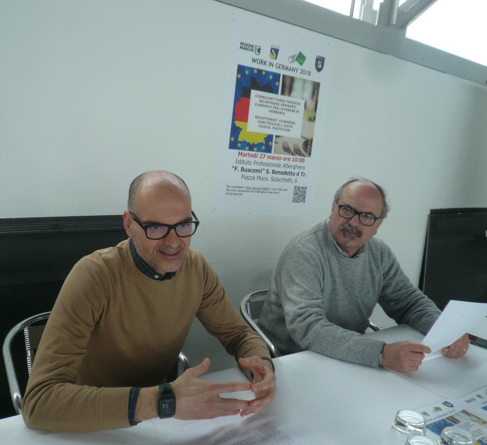 """Work in Germany: presentata la 2a edizione all'Alberghiero """"Buscemi"""""""