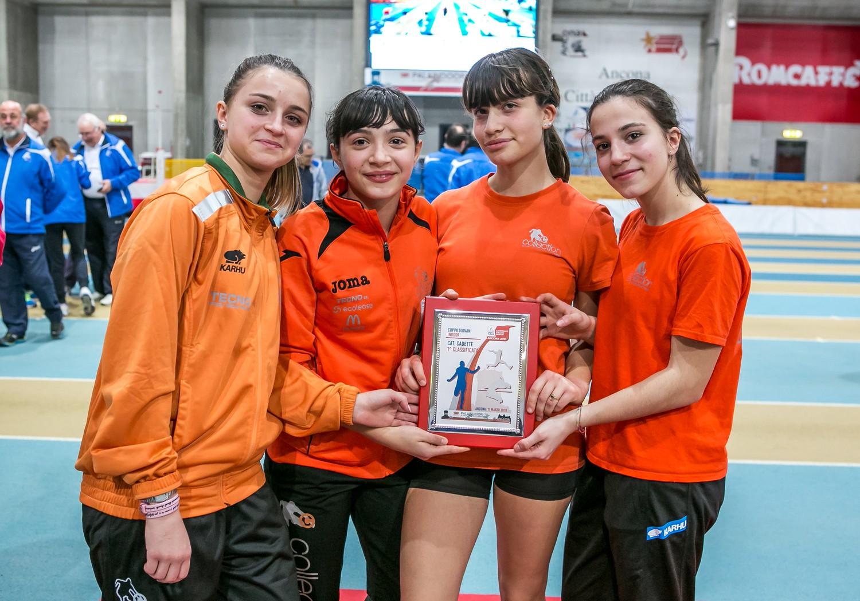 Festa dello sport al Palaindoor diAnconaper laCoppa Giovani