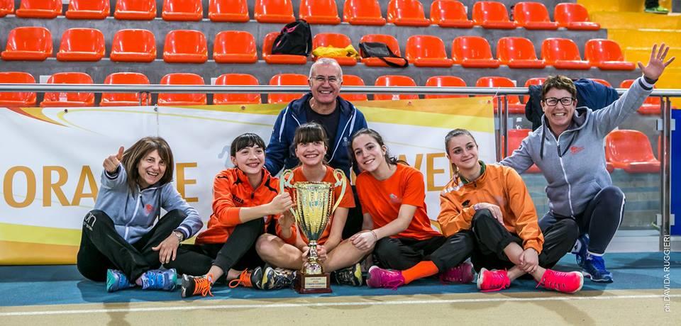 La Collection Atletica Sambenedettese vince la Coppa Giovani al Palaindoor di Ancona