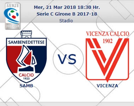 Samb – Vicenza: arbitra Luigi Carella di Bari