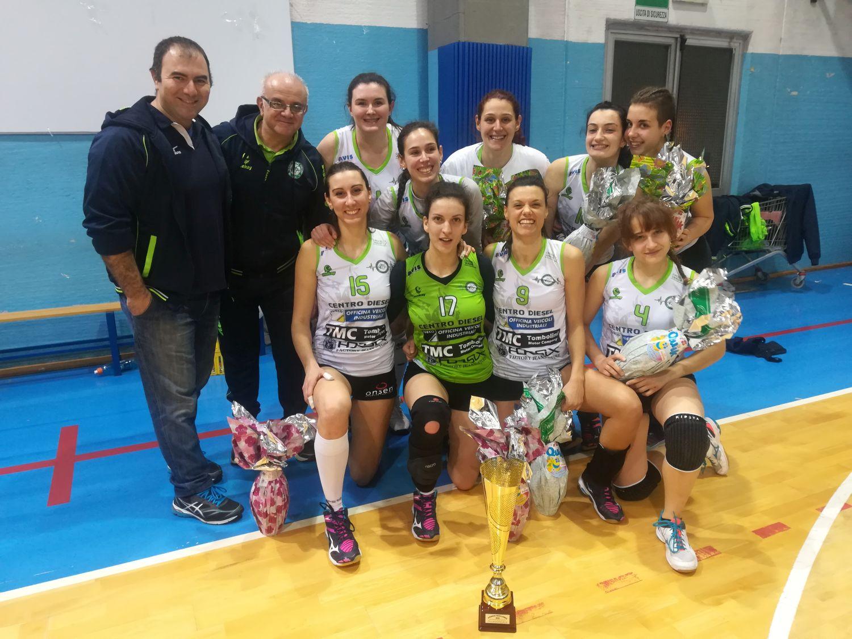 Il Pagliare volley vince Pasqua Challenge