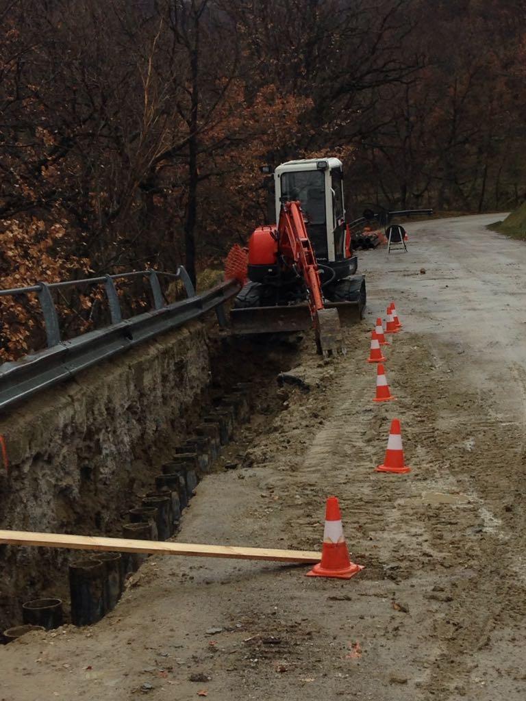 Cantieri sulle Strade Provinciali danneggiate dal sisma