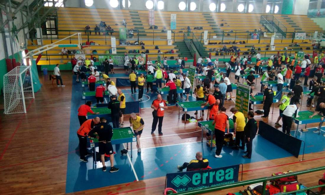 Successo per i Campionati italiani di subbuteo al PalaSpeca