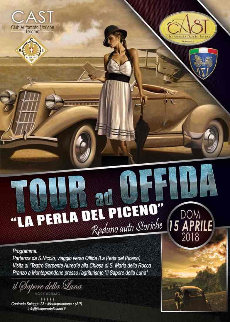 """Tour vetture d'epoca ad Offida """"La perla del Piceno"""""""