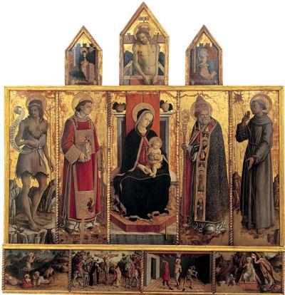 Il '400 a Fermo. Tradizione e avanguardie da Nicola di Ulisse a Carlo Crivelli