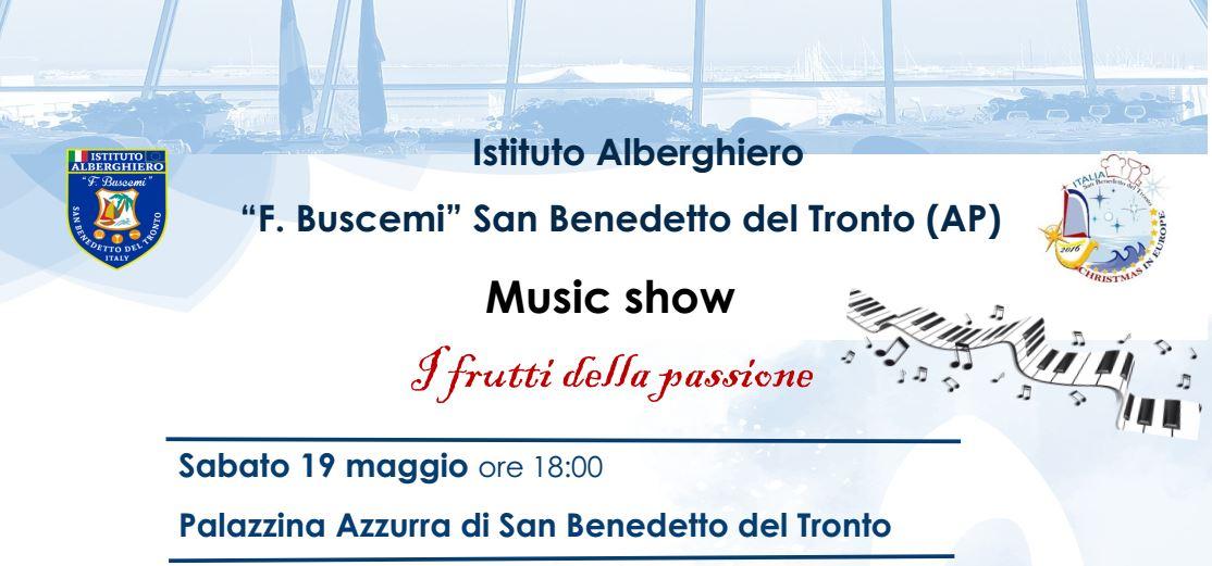 Music show: i frutti della passione @ Palazzina Azzurra