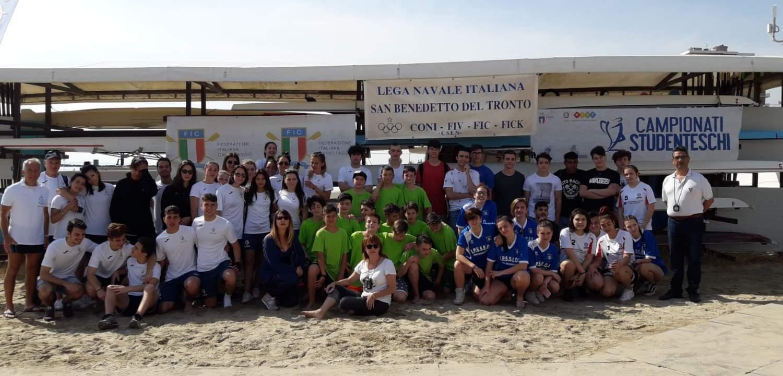 Canottaggio, l'Istituto Alberghiero Buscemi ed il Liceo Scientifico Rosetti alla finale nazionale