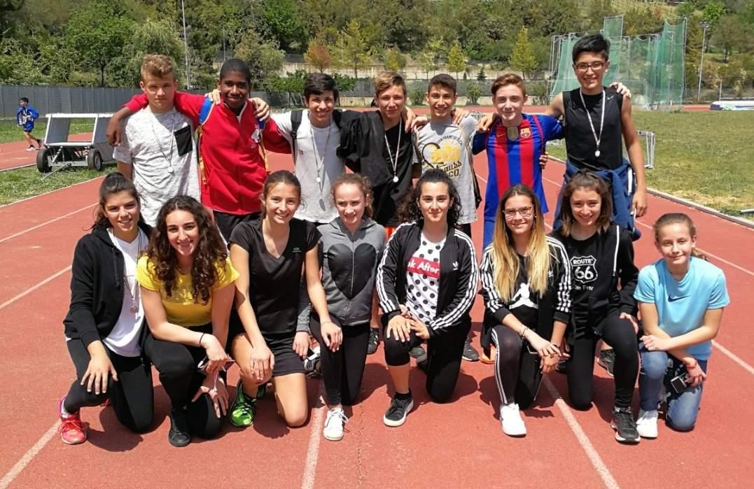 Eccellente risultato per gli alunni dell'Isc Sud nella fase Provinciale dei Campionati Sportivi Studenteschi di atletica leggera, categoria Cadetti/e.