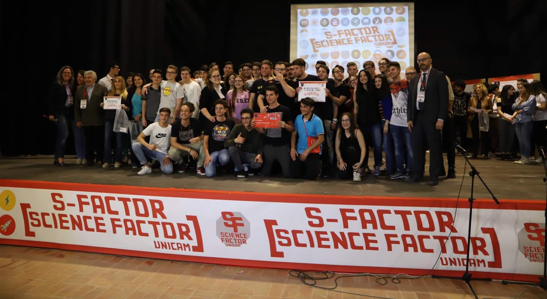Successo anche per la 3a edizione di S-Factor, il Talent scientifico dell'UniCam