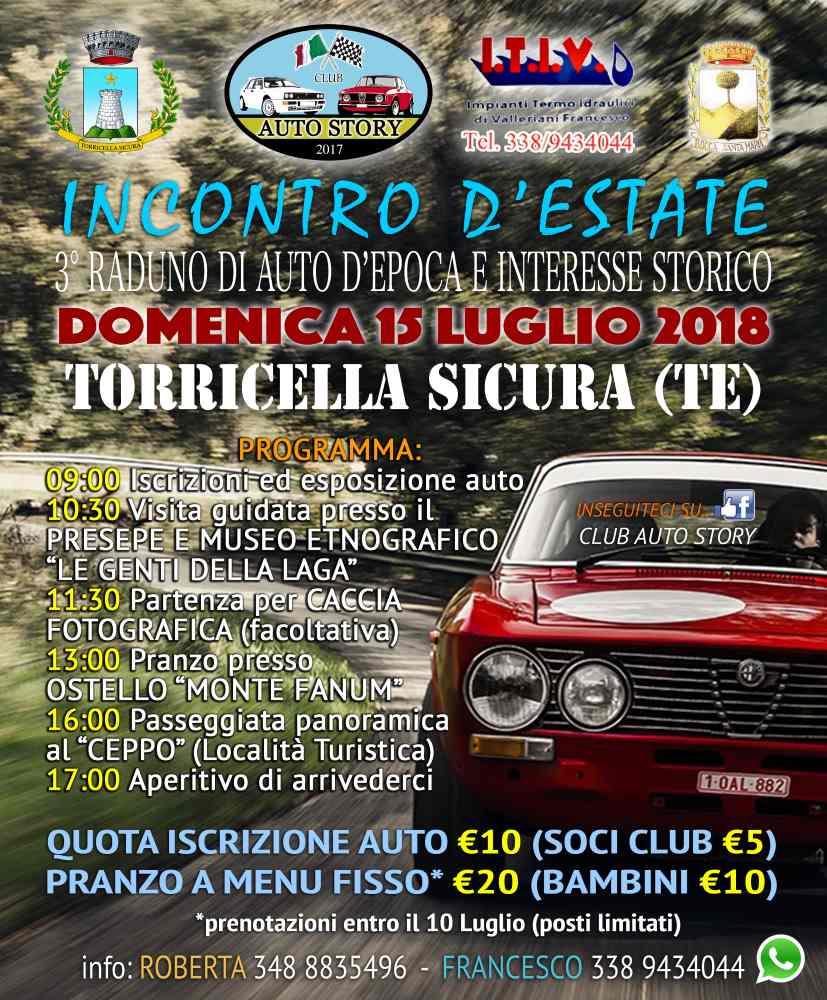 Raduno di Auto d'epoca e di interesse storico a Torricella