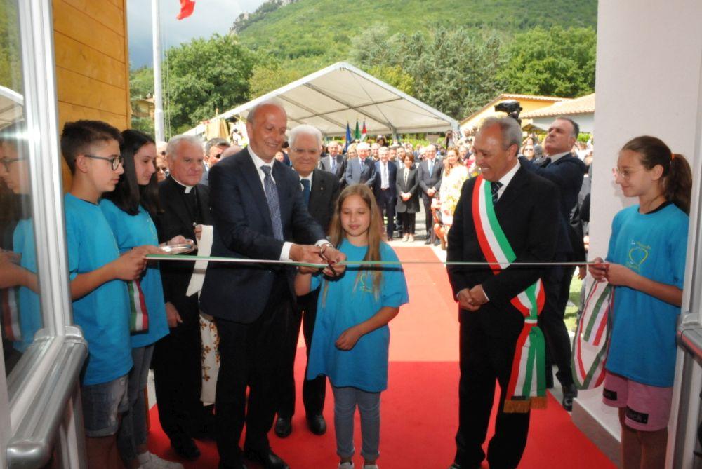 Visita del Presidente Mattarella ad Esanatoglia