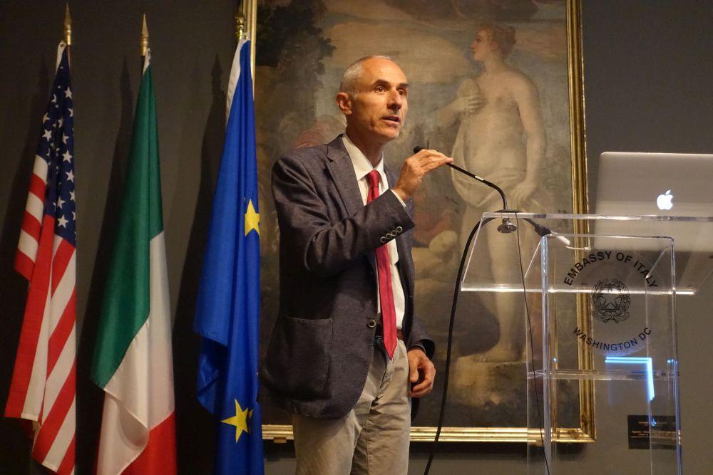 Massimo Sargolini, docente UniCam relatore in diversi meeting in Usa