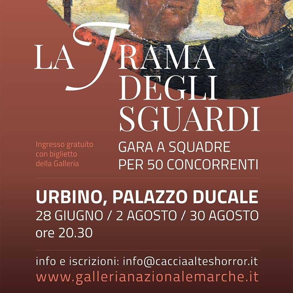 Trama degli Sguardi al Palazzo Ducale di Urbino