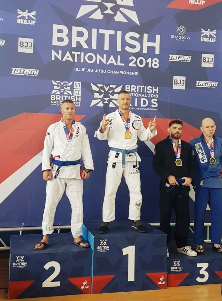 Francesco Mininni si è riconfermato campione europeo di brasilian jiu jitsu