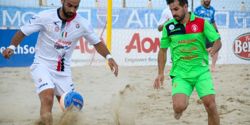 Beach soccer, debutto vittorioso della Samb sulla Vastese