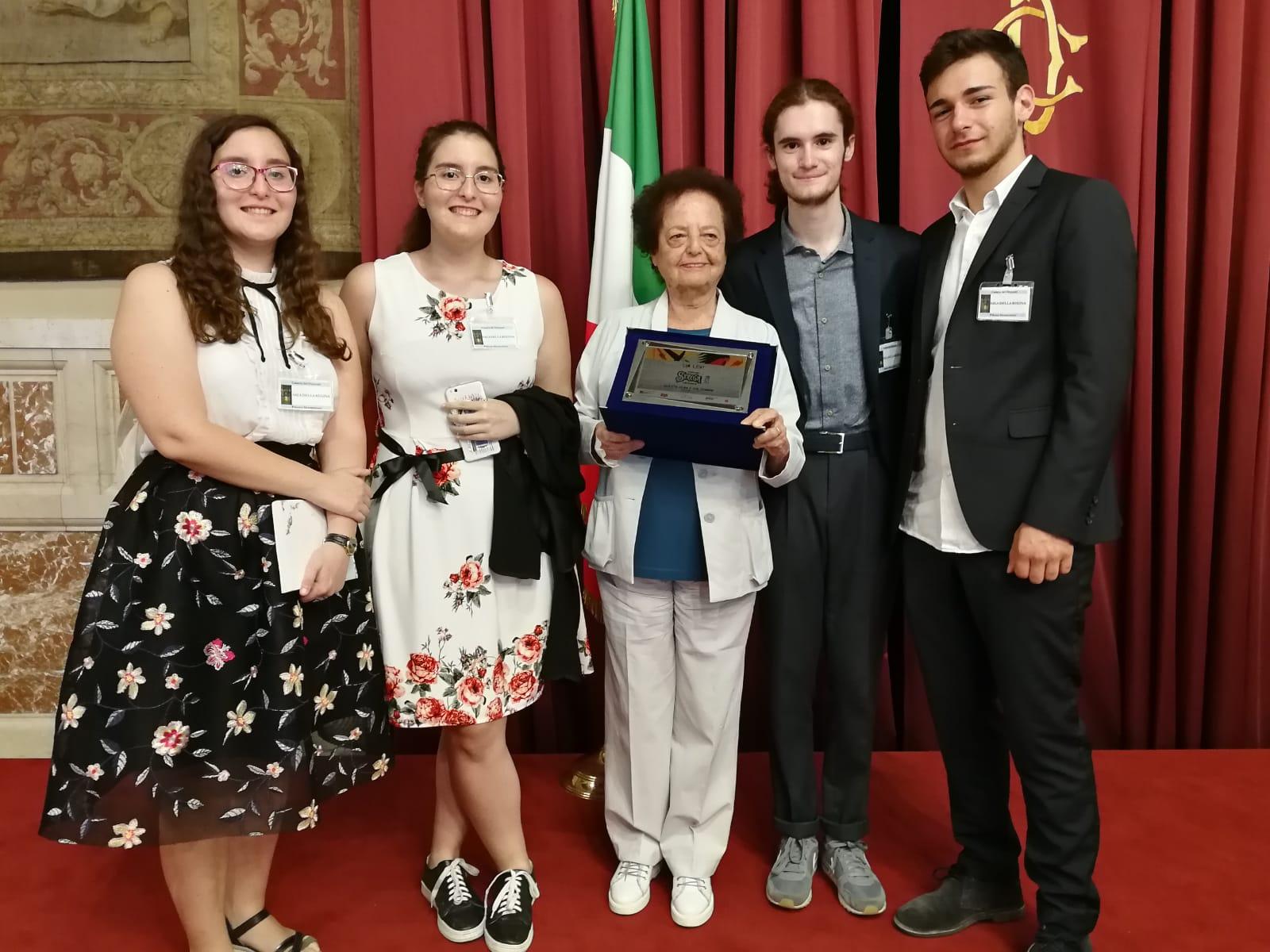 Rinnovato a Montecitorio il legame che unisce il Premio Strega ed il Liceo Scientifico Rosetti