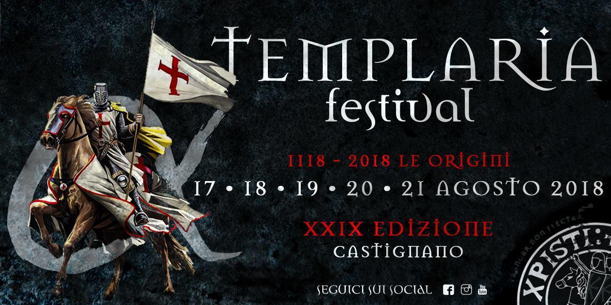 """Templaria Festival 2018 – """"Le Origini"""""""