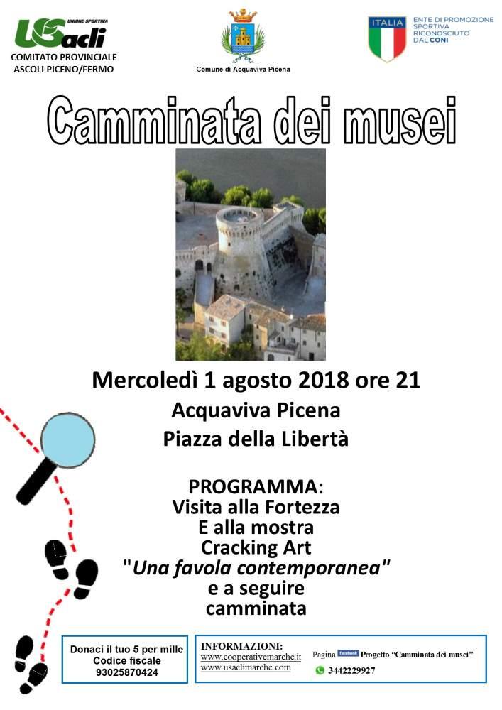 """2° appuntamento ad Acquaviva con il progetto """"Camminata dei musei"""""""