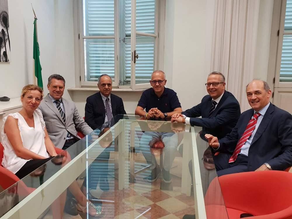 Civitanova, il rettore incontra il sindaco per i corsi di laurea UniMc