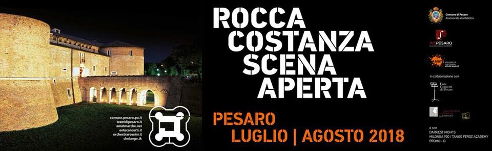 Rocca Costanza Scena Aperta entra nel vivo
