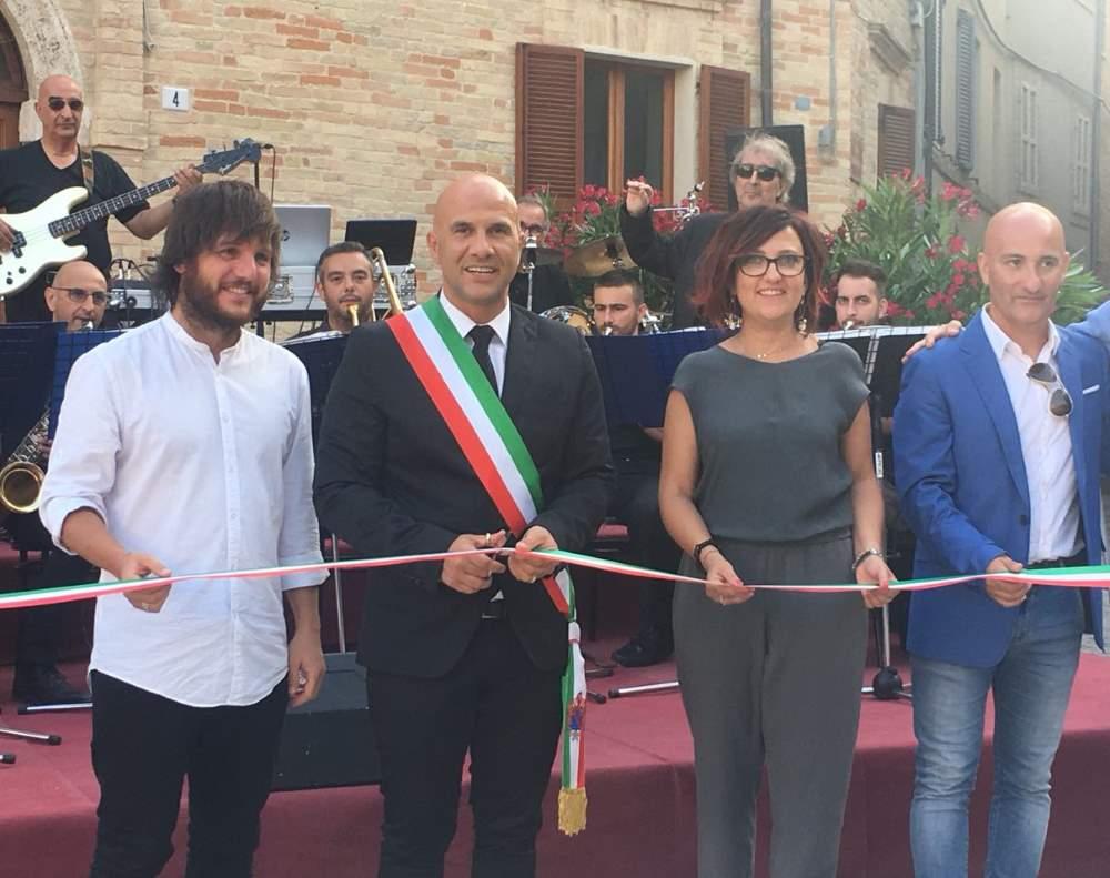 Inaugurata Piazza Valorani a Offida
