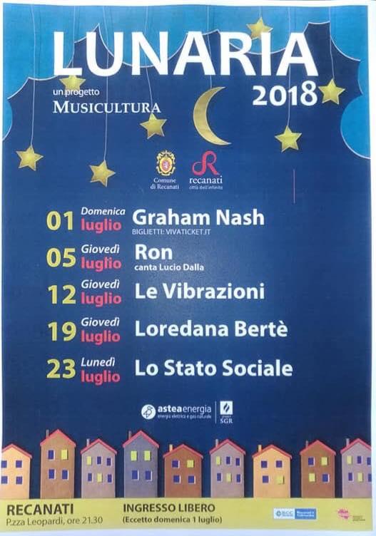 Loredana Bertè a Lunaria domani sera