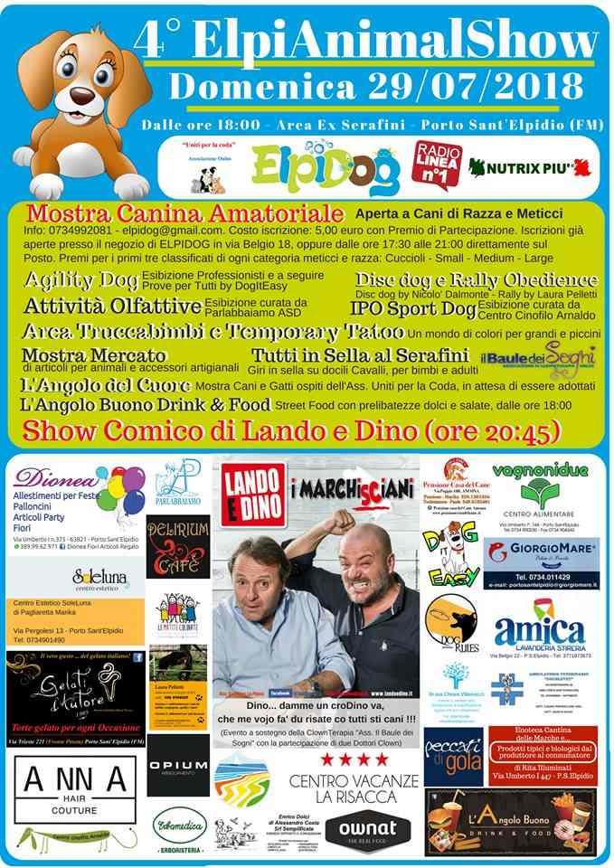 ElpiAnimalShow: divertimento a quattro zampe a Porto Sant'Elpidio