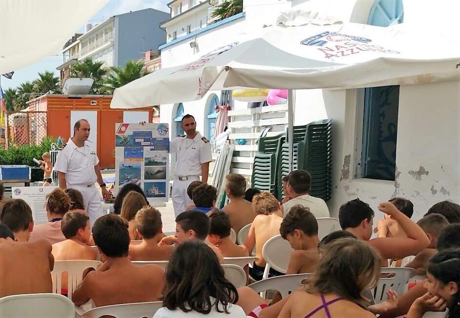 Sensibilizzazione sulla sicurezza balneare, incontro informativo con i giovani dei Centri Estivi