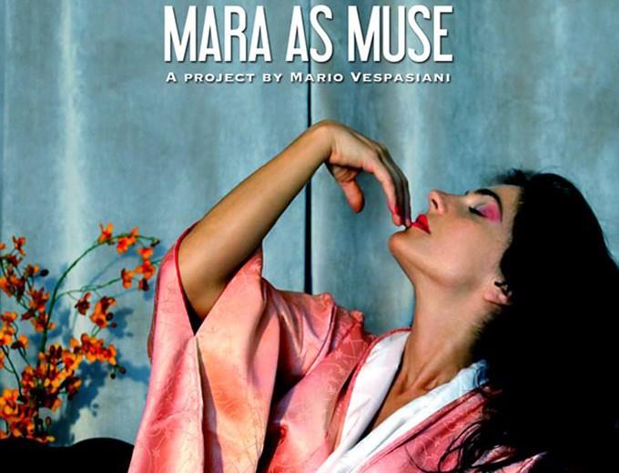"""Mario Vespasiani, """"Mara as Muse"""" unisce Mediterraneo e Sole nascente"""