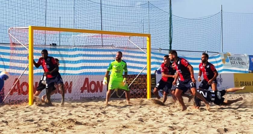 Beach soccer, la Samb batte in extremis Viareggio