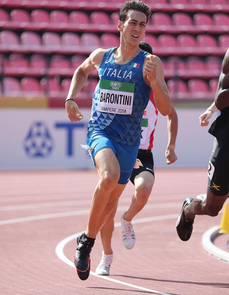 Barontini, volata da semifinale ai Mondiali U 20