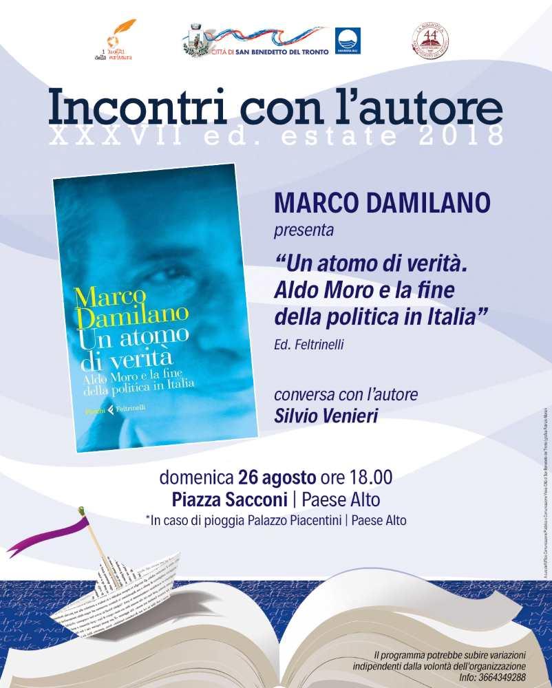 """Marco Damilano, """"Un atomo di verità """""""