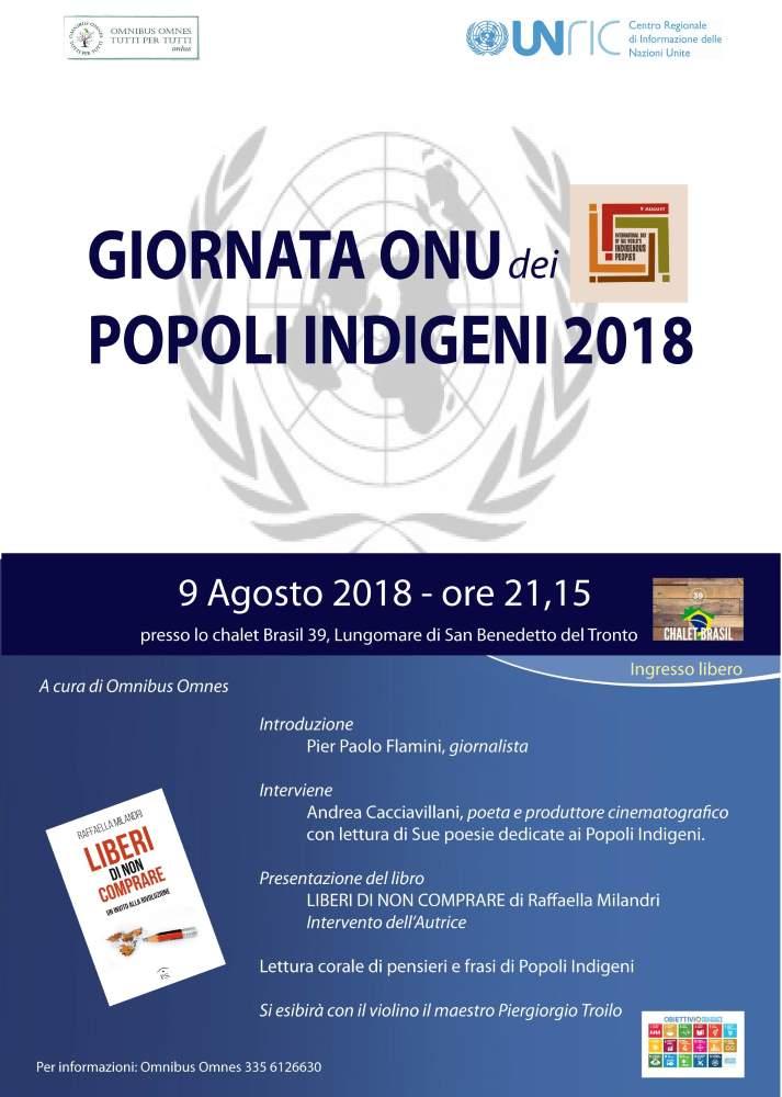 Giornata Onu dei Popoli Indigeni