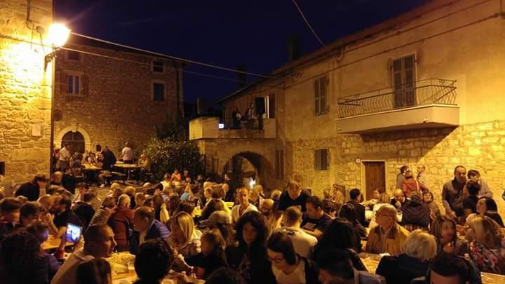 Festa dell'Ortolano 2018 a Cagnano di Acquasanta Terme