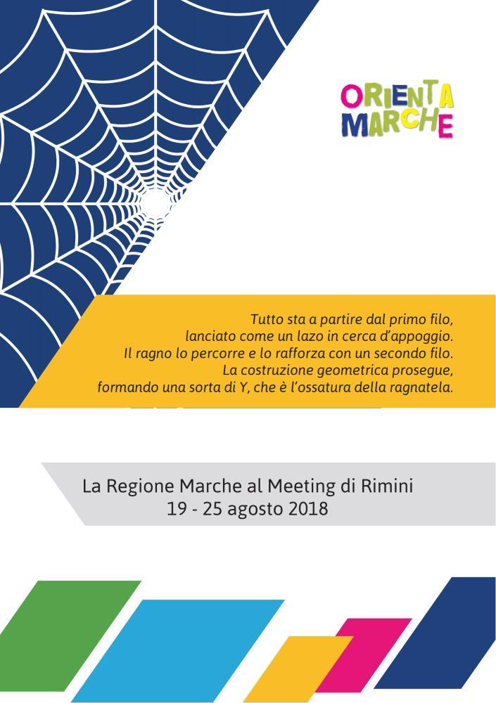 Anche quest'anno la Regione Marche al Meeting di Rimini