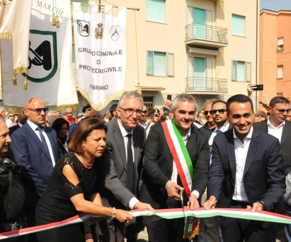 Fabriano, inaugurazione della scuola materna di via Don Petruio