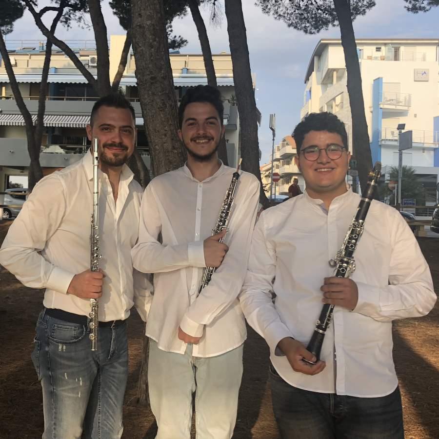 Trio di fiati composto da giovani talenti all'anteprima del 16° FestivaLiszt